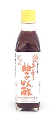 Namashibori Yuzu Ponzu / Yuzu Ponzu Frais 300ml