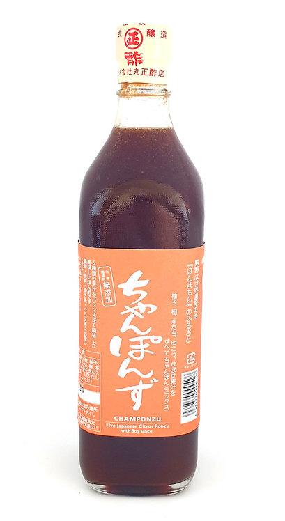 Champonzu / Mixed Citrus Ponzu Sauce 700ml