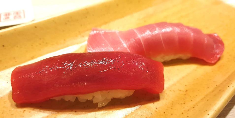 Maguro Akami & Chutoro sushi.jpg