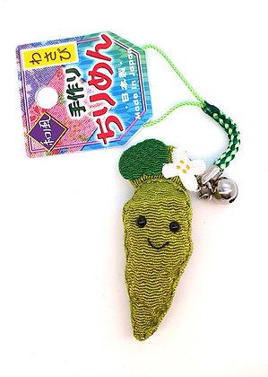 KAWAI Wasabi key chain for mobile phone