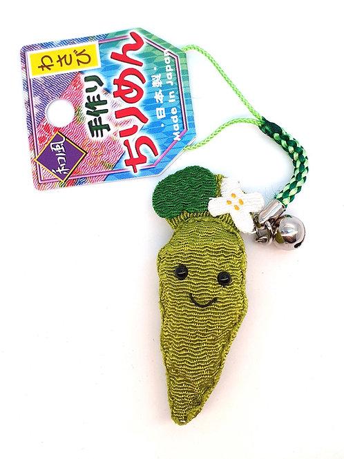 Porte clefs KAWAI Wasabi pour téléphone