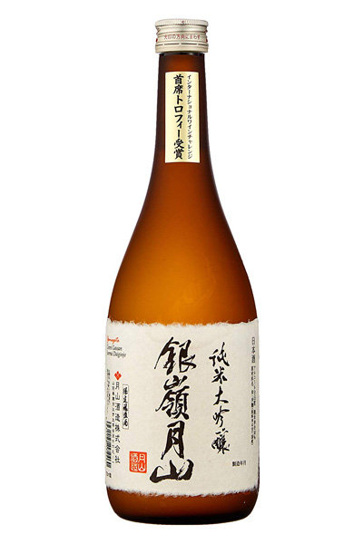 Ginrei Gassan Junmai Daiginjo 銀嶺月山 720ml