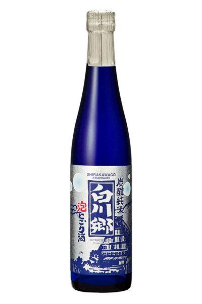 Shirakawago Awa-Nigori Sparkling 白川郷  炭酸純米  泡にごり酒 500ml