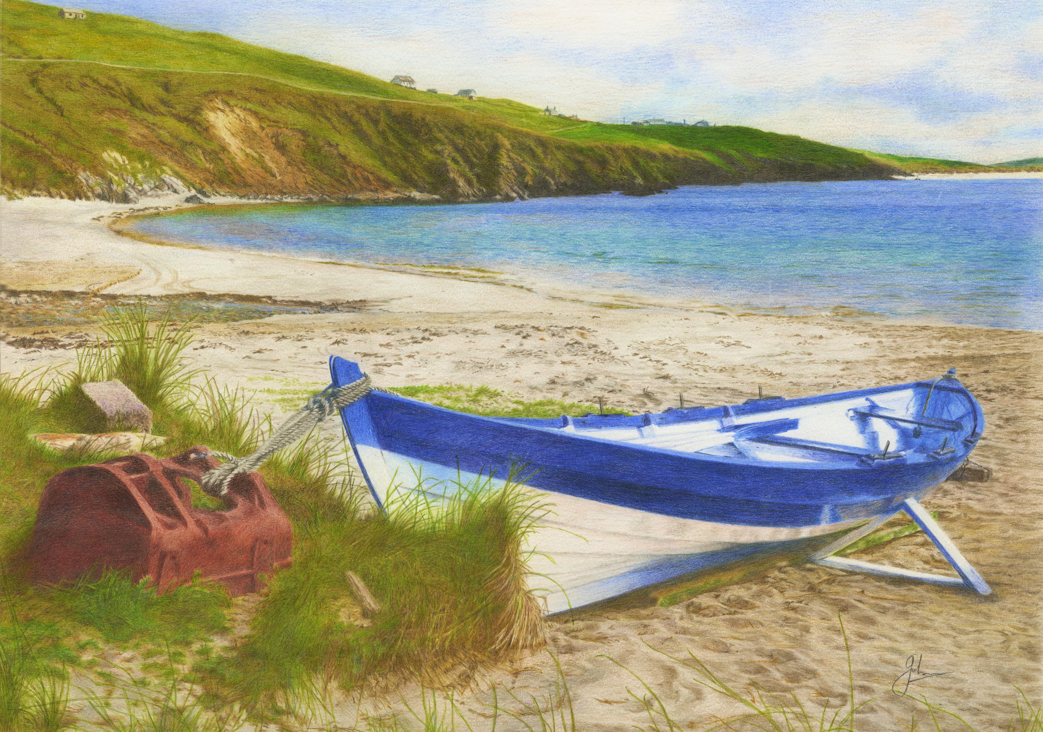 Ness Yoal 'Rerwick Beach' Shetland
