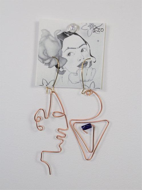Artsy Wire Earrings
