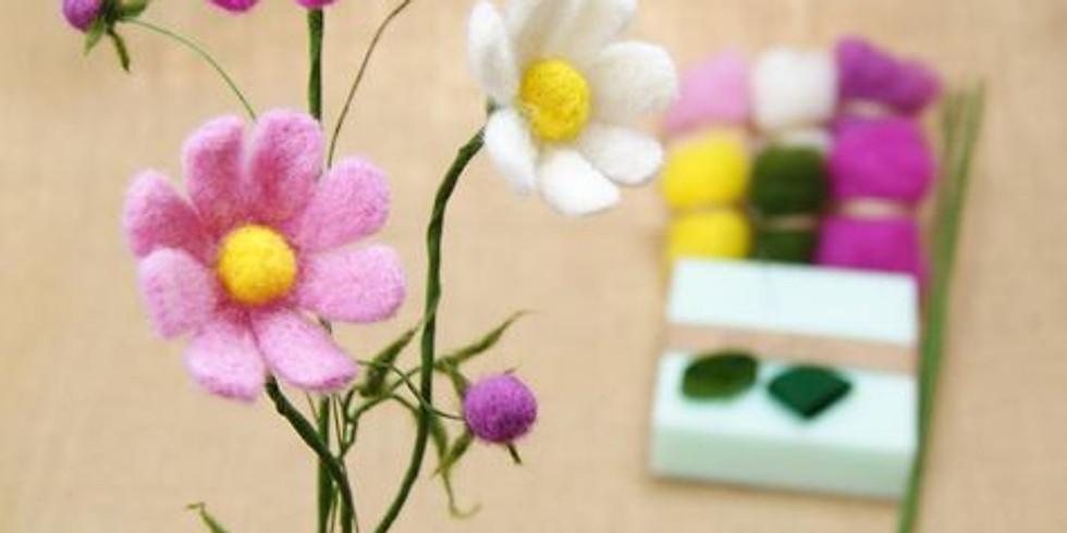 Needle Felting Workshop: Wildflowers
