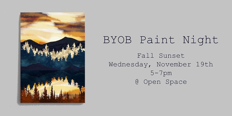 BYOB Paint Night - Fall Sunset