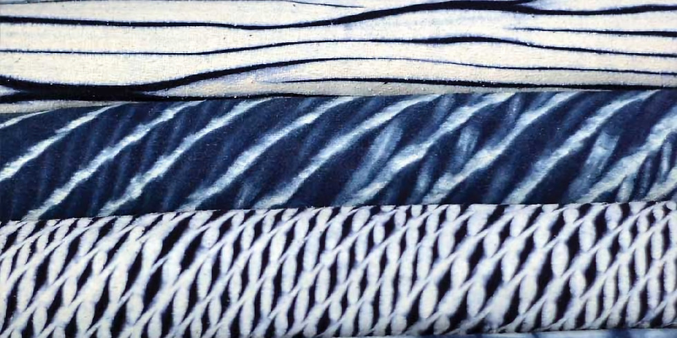 Japanese Shibori Workshop: Silk Scarf