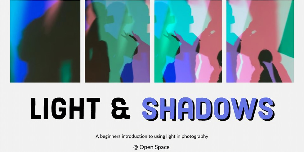 Intro to Photo Studio: Light and Shadow