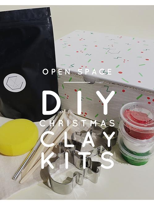DIY Christmas Clay Kit