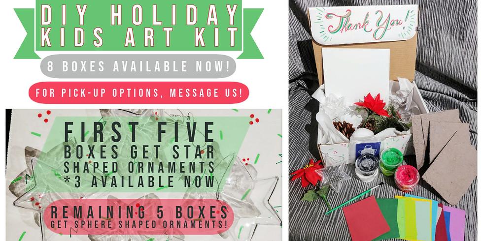 DIY Holiday Kids Art Kit