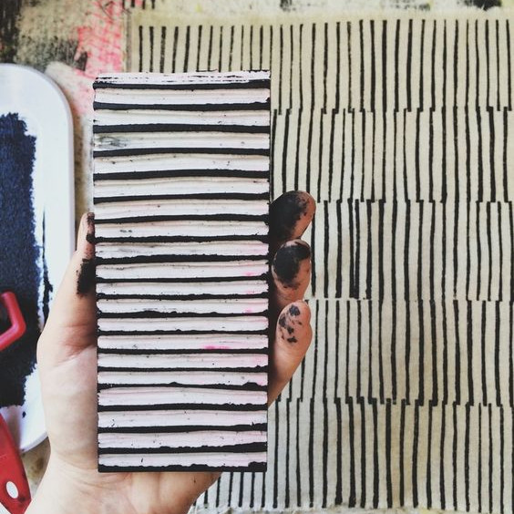 Printmaking Workshop on a Tote Bag