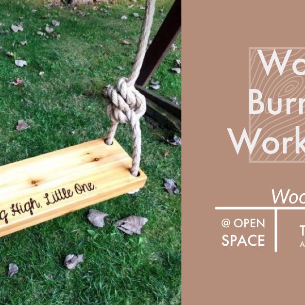 Wood Burning Workshop : Wooden Swing