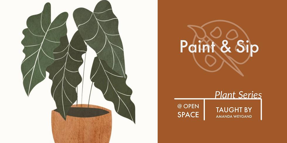 Paint & Sip - Plant Series