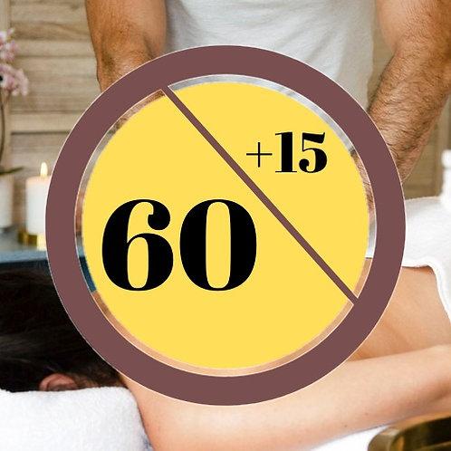 Upgraded 60 Minutes Full Body Massage Voucher