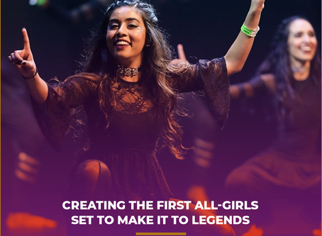 Creating the First All-Girls Set to Make it to Legends