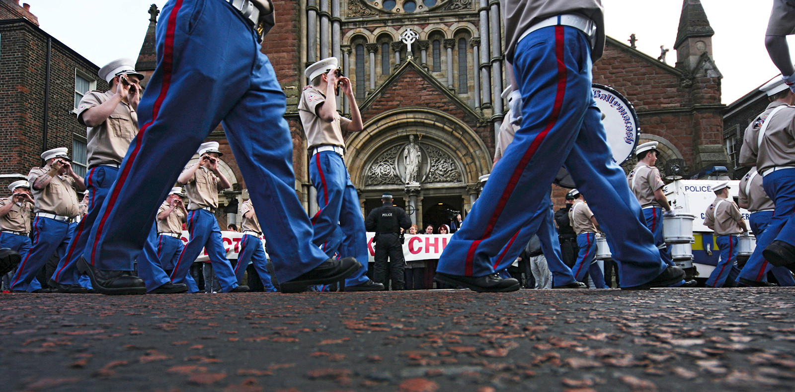 COLOUR - Marching Feet by John Hanvey (9 marks)