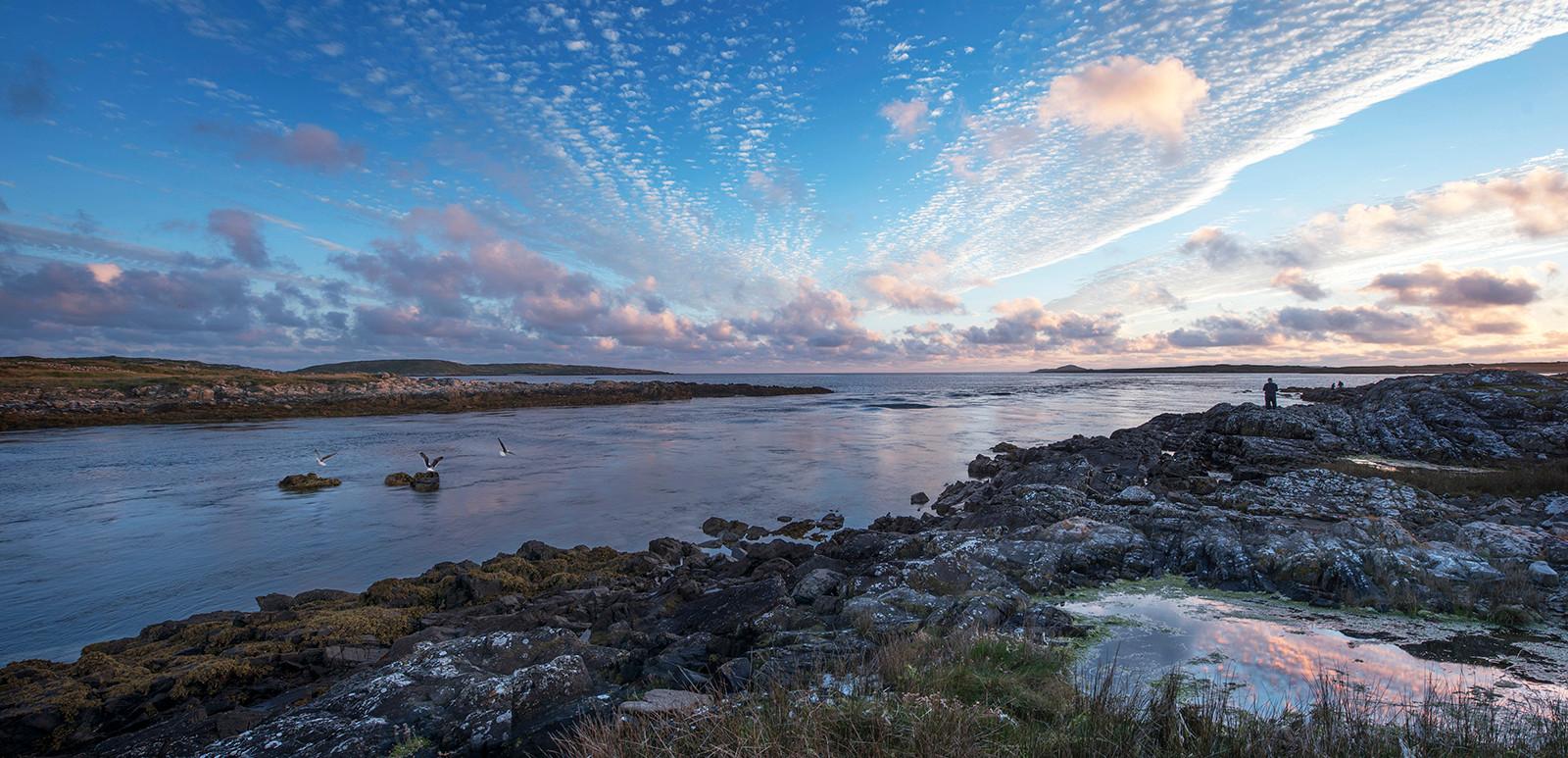 COLOUR - Conammara Reflection by Fionntan O'Meallain (7 marks)