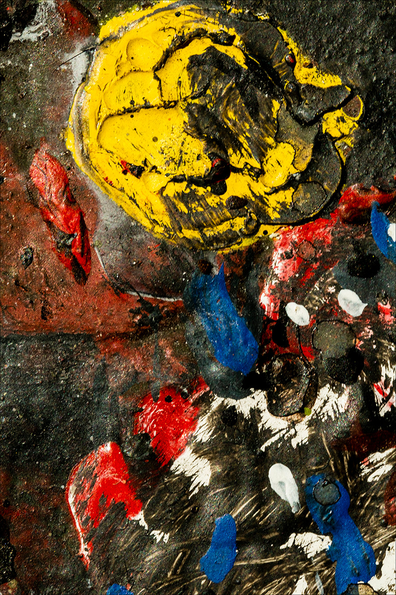 'Pollock Palette' by Cormac McArt (9 marks)
