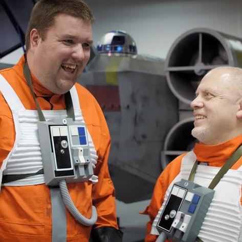 Life Size X-Wing på Sci-Fi World Stockholm 2019