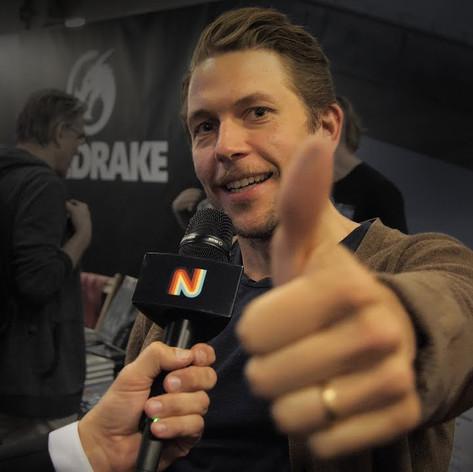 Intervju med Simon Stålenhag på Comic Con Stockholm 2019