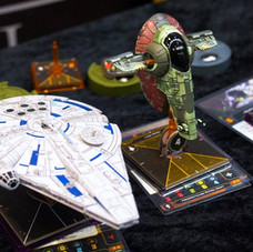 Dragon´s Lair / X-Wing Demo // SciFi World Stockholm 2018