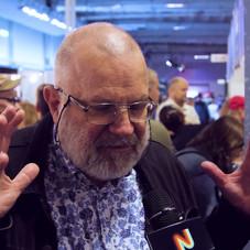 Intervju med Anders Blixt på Comic Con Stockholm 2019