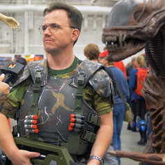 Aliens Colonial Marine Cosplay // Sci Fi World Stockholm 2018