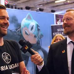 COMIC CON STOCKHOLM 2018 // Tomas Härenstam från Fria Ligan