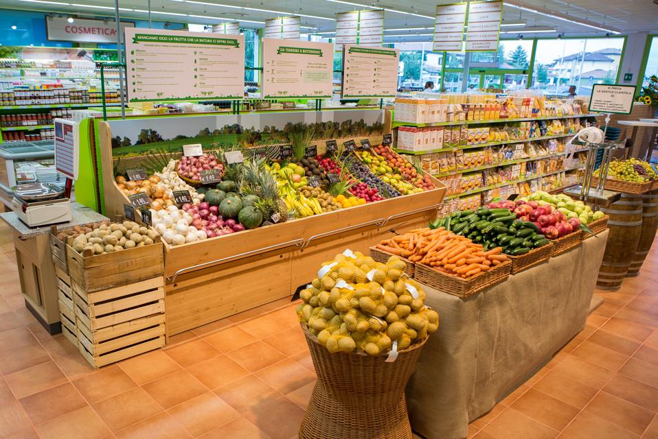 Supermercato Piacere Terra - Milano