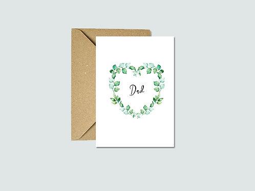 Dad - Grandad - Godfather Card