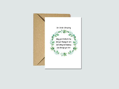An Irish Blessing Cards (5 pack)