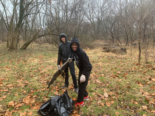 Making a difference: Steward led clean-up at Cobbs Creek