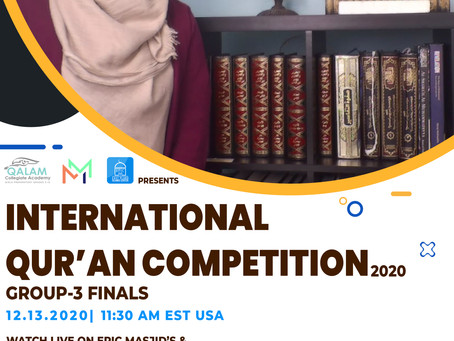 International Qur'an Competition Group 3 Finals