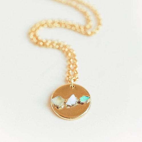 Opal & Onyx Medallion
