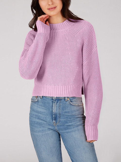 Orchid Cropped Sweater