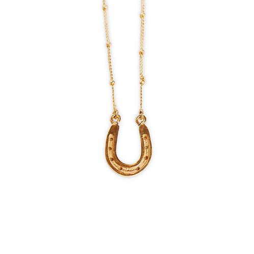 Horseshoe Medallion Necklace