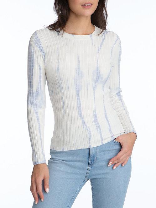 Wide Rib Tie Dye Pullover