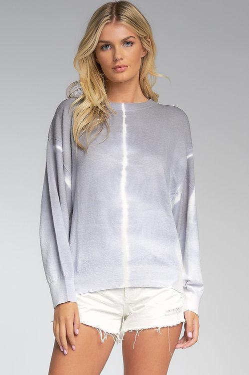 Grey Tie Dye Sweater