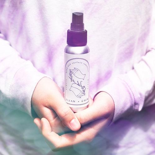 Clean + Calm Hand and Surface Sanitizer