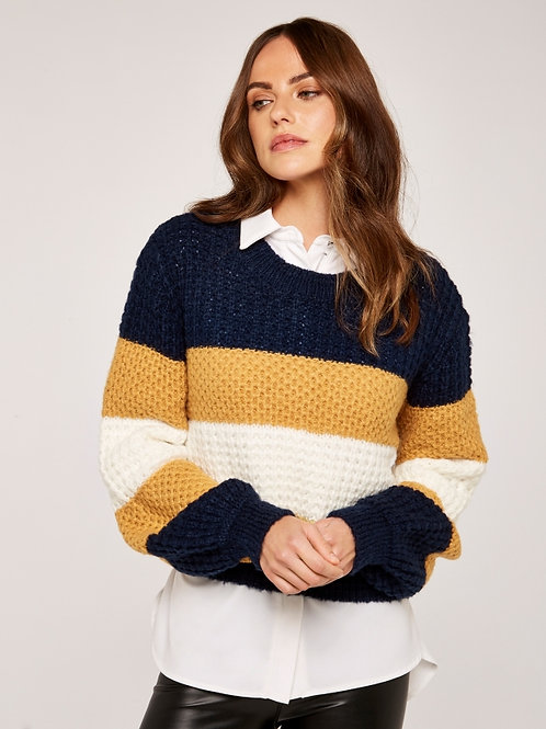 Large Stripes Sweater