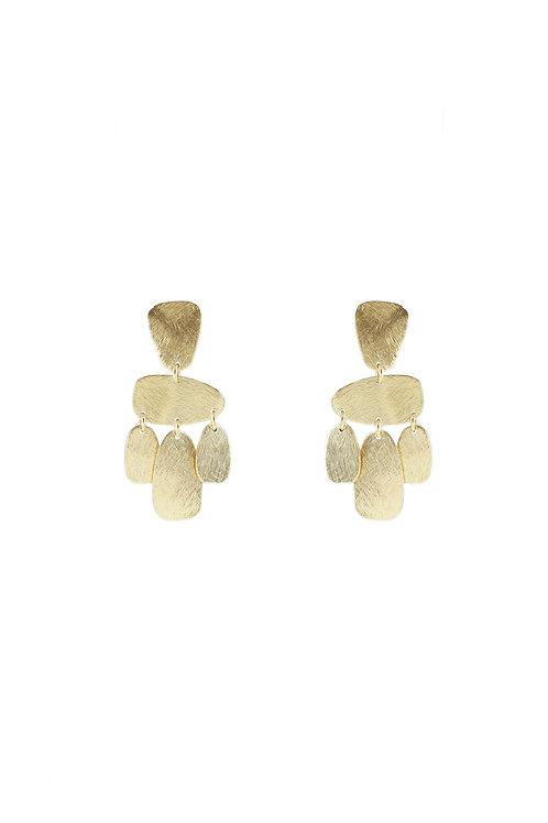 Dangling Coins Earrings
