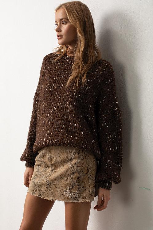 Java Brown Sweater