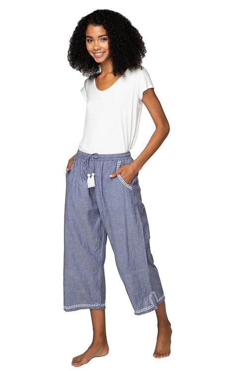 Crop Beach Trousers