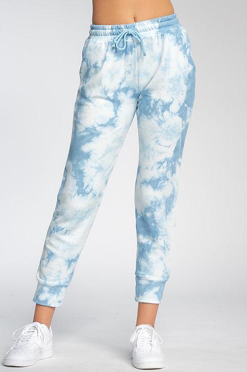 Blue Tie Dye Joggers