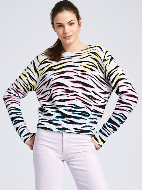Printed Relaxed Pullover