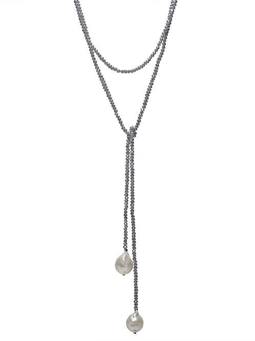 Petra Lariat Necklace