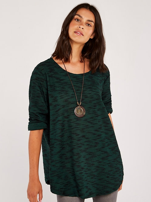 Necklace Long Sleeve Top