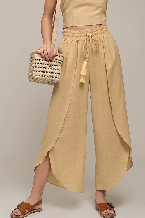 Yellow Stripe Pants