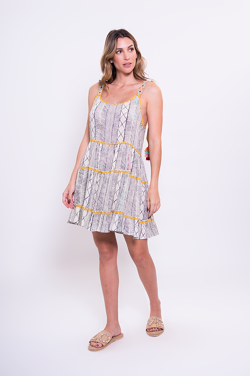 Jaune Mini Dress